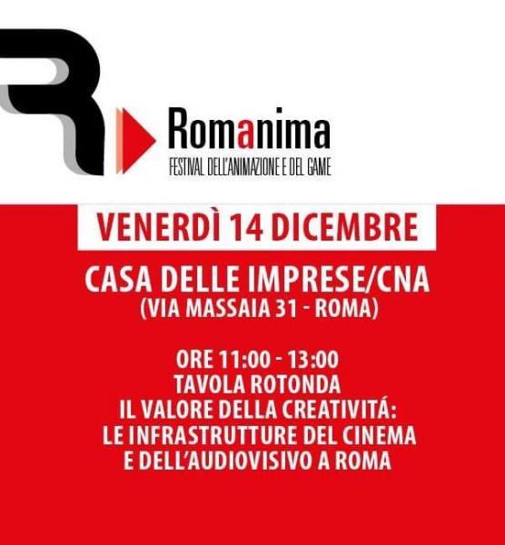 11815d175a La tavola rotonda è prevista a latere di Romanima, festival che si svolgerà  dal 14 al 16 dicembre presso il Nuovo Cinema Aquila e che ha come focus, ...