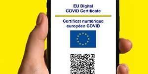 digital covid certificate UE